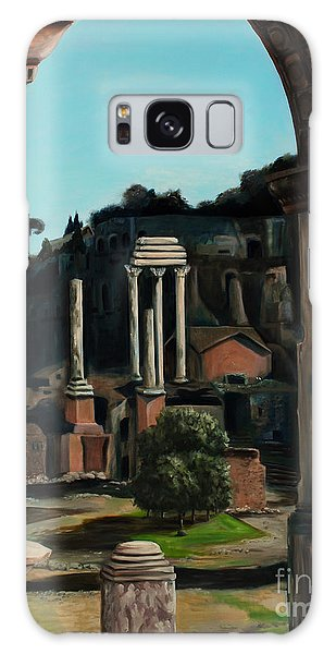 Roman Forum Galaxy Case by Nancy Bradley