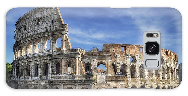 Galaxy Case featuring the photograph Roman Icon by Joan Carroll