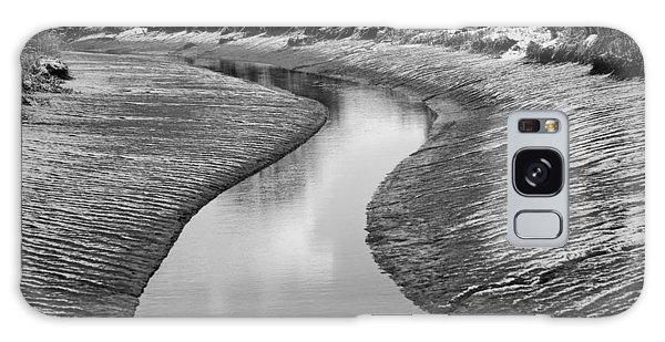 Roman River Bend Galaxy Case by David Davies