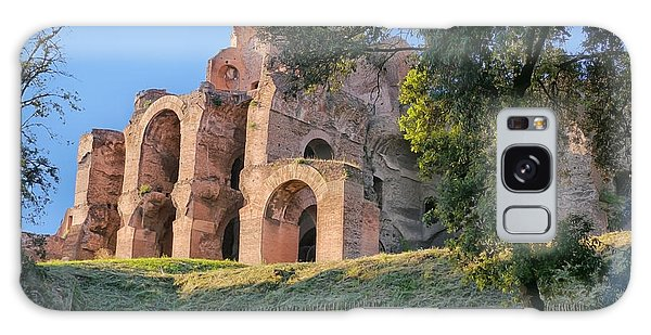 Roman Ruins 5 Galaxy Case