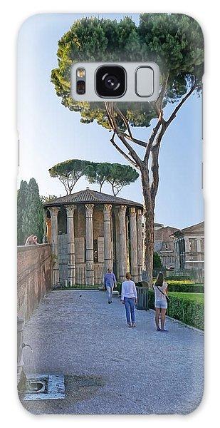 Roman Ruins 6 Galaxy Case