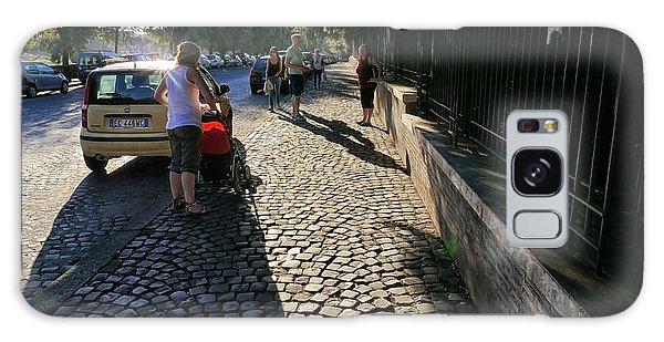 Roman Streets 1 Galaxy Case
