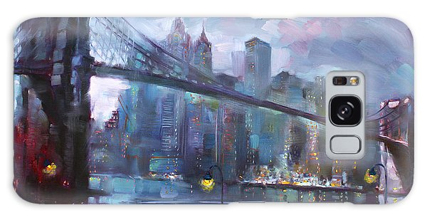 Architecture Galaxy Case - Romance By East River II by Ylli Haruni