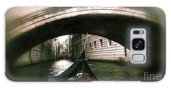 Romance Under The Bridge Galaxy Case by Delona Seserman