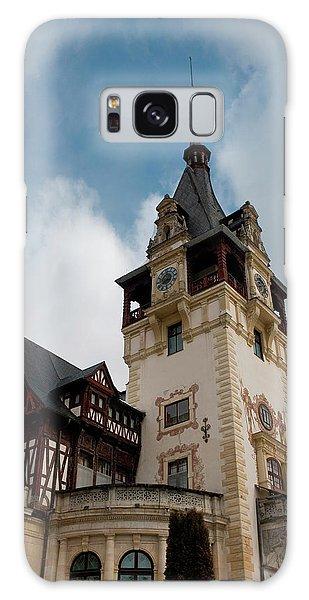 Pele Galaxy Case - Romania Transylvania Sinaia Peles Castle by Inger Hogstrom