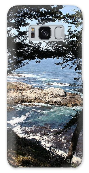 Romantic California Coast Galaxy Case