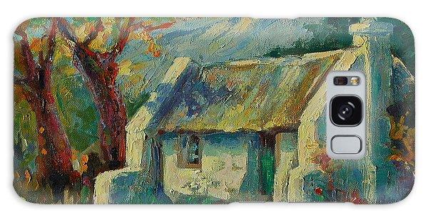 Romantic Cape Cottage Galaxy Case