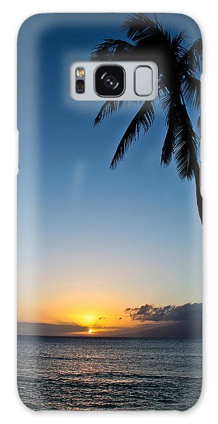 Romantic Maui Sunset Galaxy Case