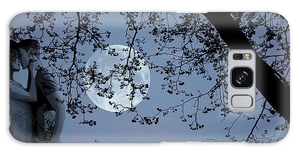 Romantic Moon 2  Galaxy Case by Angel Jesus De la Fuente