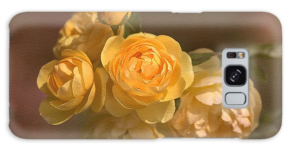 Romantic Roses Galaxy Case by Joy Watson