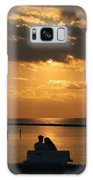 Romantic Sunrise Galaxy Case by Leticia Latocki