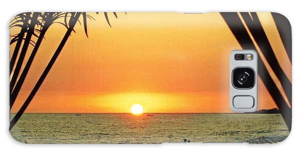 Romantic Sunset Galaxy Case