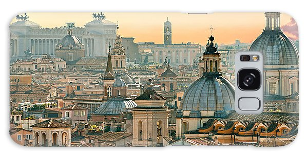 Rome - Italy Galaxy Case by Luciano Mortula