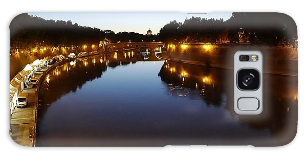 Rome- Dusk On The River2 Galaxy Case