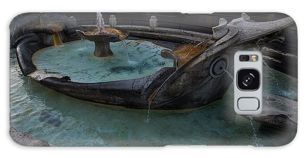 Rome's Fabulous Fountains - Fontana Della Barcaccia At The Spanish Steps  Galaxy Case