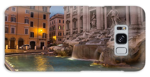 Rome's Fabulous Fountains - Trevi Fountain At Dawn Galaxy Case