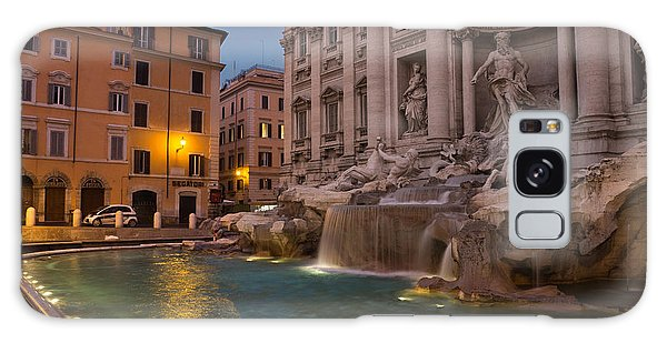 Rome's Fabulous Fountains - Trevi Fountain At Dawn Galaxy Case