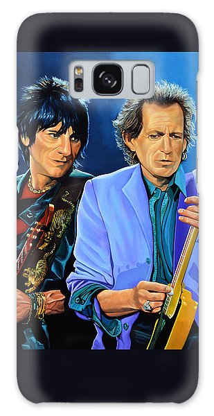 Ron Wood And Keith Richards Galaxy S8 Case