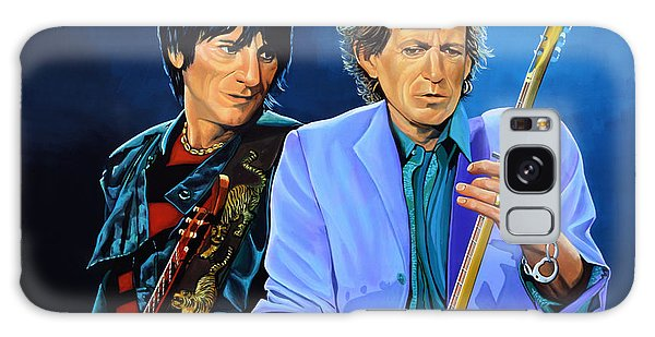 Realistic Galaxy Case - Ron Wood And Keith Richards by Paul Meijering