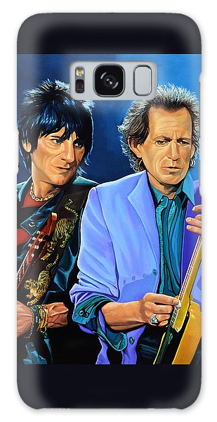 Ron Wood And Keith Richards Galaxy Case