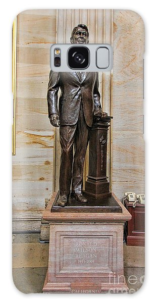 Ronald Regan -  U S Capitol Statuary Hall Galaxy Case by Allen Beatty