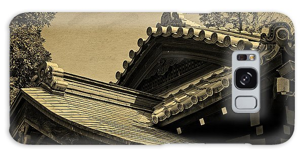 Roof Tile Details Of A Buddhist Temple I Galaxy Case