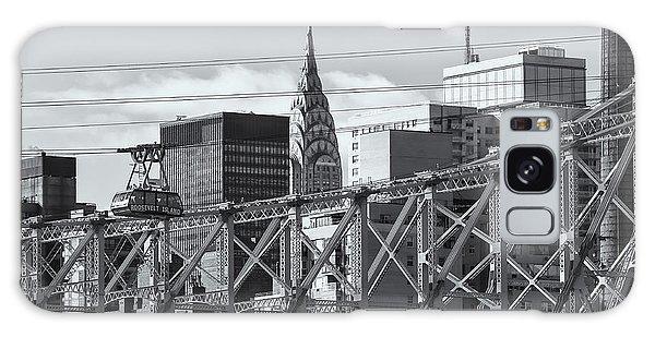 Roosevelt Island Tram And Manhattan Skyline II Galaxy Case
