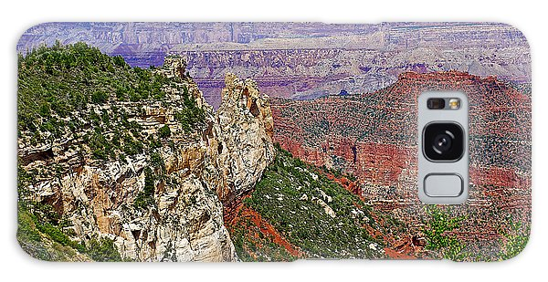Roosevelt Point Two On North Rim/grand Canyon National Park-arizona   Galaxy Case