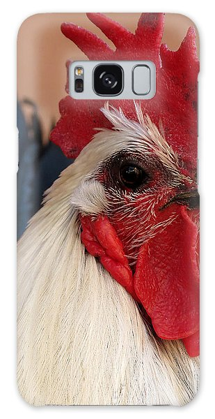 Rooster Face Galaxy Case