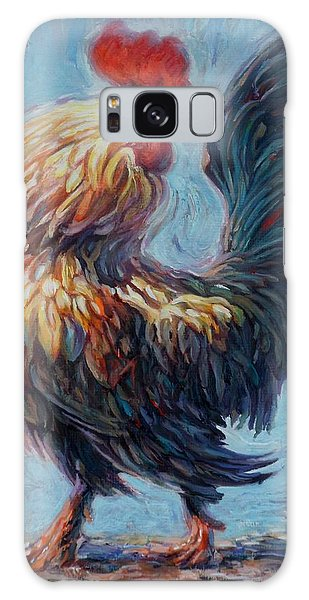 Rooster Galaxy Case by Hans Droog