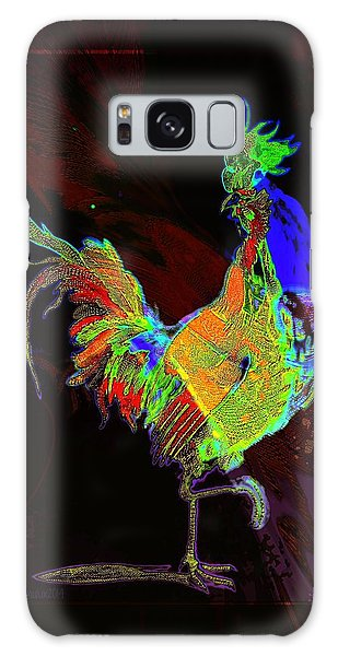 Rooster Galaxy Case