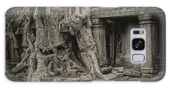 Roots In Ruins 7, Ta Prohm, 2014 Galaxy Case