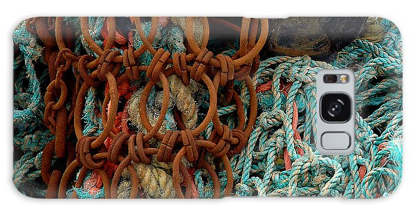 Ropes And Rusty Wires Galaxy Case