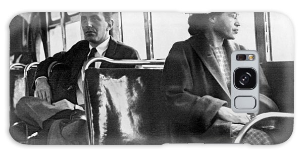Rosa Parks On Bus Galaxy Case