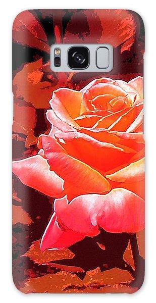 Rose 1 Galaxy Case by Pamela Cooper