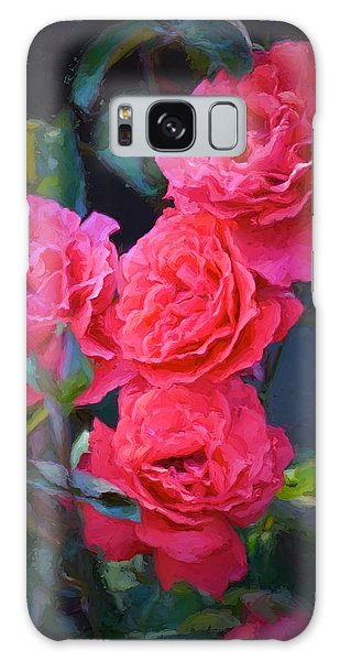 Rose 138 Galaxy Case by Pamela Cooper