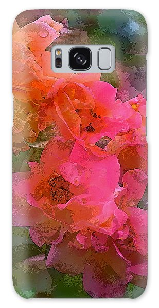 Rose 219 Galaxy Case by Pamela Cooper
