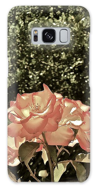 Rose 55 Galaxy Case by Pamela Cooper