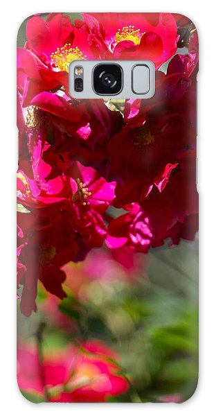 Rose Bouquet Galaxy Case by Michele Myers