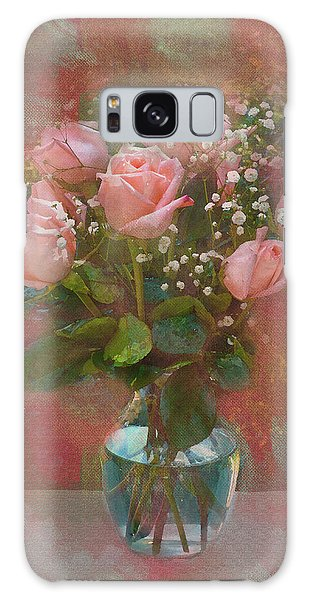 Rose Bouquet Galaxy Case