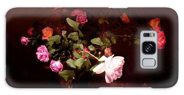Rose Bouquet Galaxy Case by Steve Karol