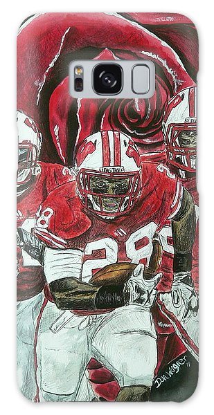 Rose Bowl Badgers Galaxy Case