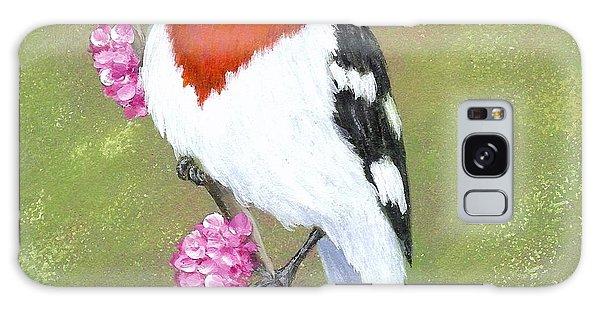 Rose-breasted Grosbeak Galaxy Case