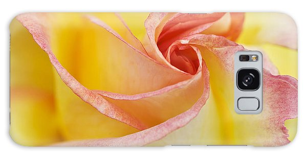 Rose Bud Opening Galaxy Case by Lana Enderle