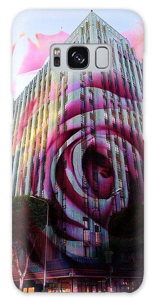 Rose Building Galaxy Case