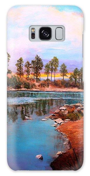 Rose Canyon Lake 2 Galaxy Case