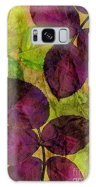 Rose Clippings Mural Wall Galaxy Case by Claudia Ellis