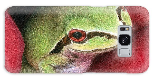 Rose Frog Galaxy Case by Pat Erickson