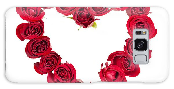 Floral Galaxy Case - Rose Heart by Elena Elisseeva