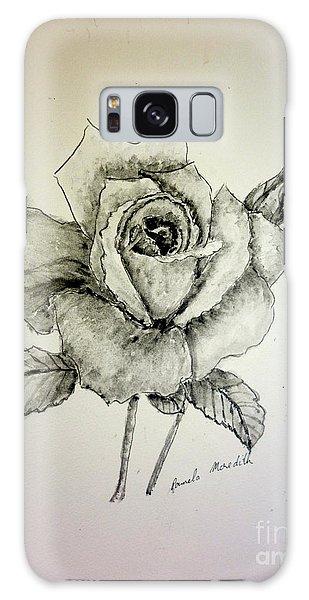 Rose In Monotone Galaxy Case